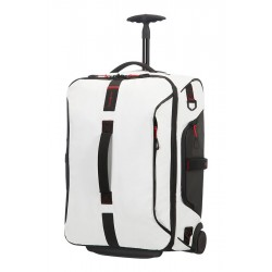 Maleta cabina Samsonite Paradiver Light 01N.007 blanco 55 cms